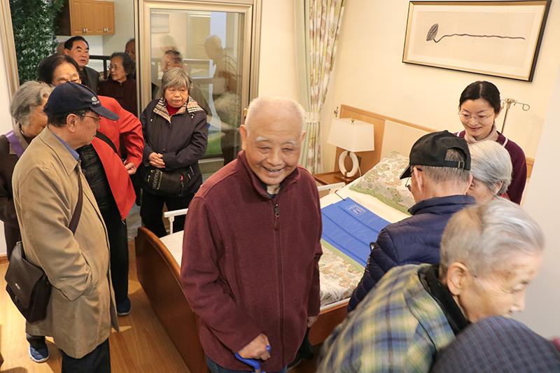 安徽医科大学第一附属医院退休专家团体参访佰和佰樂 共话医养结合养老社区建设